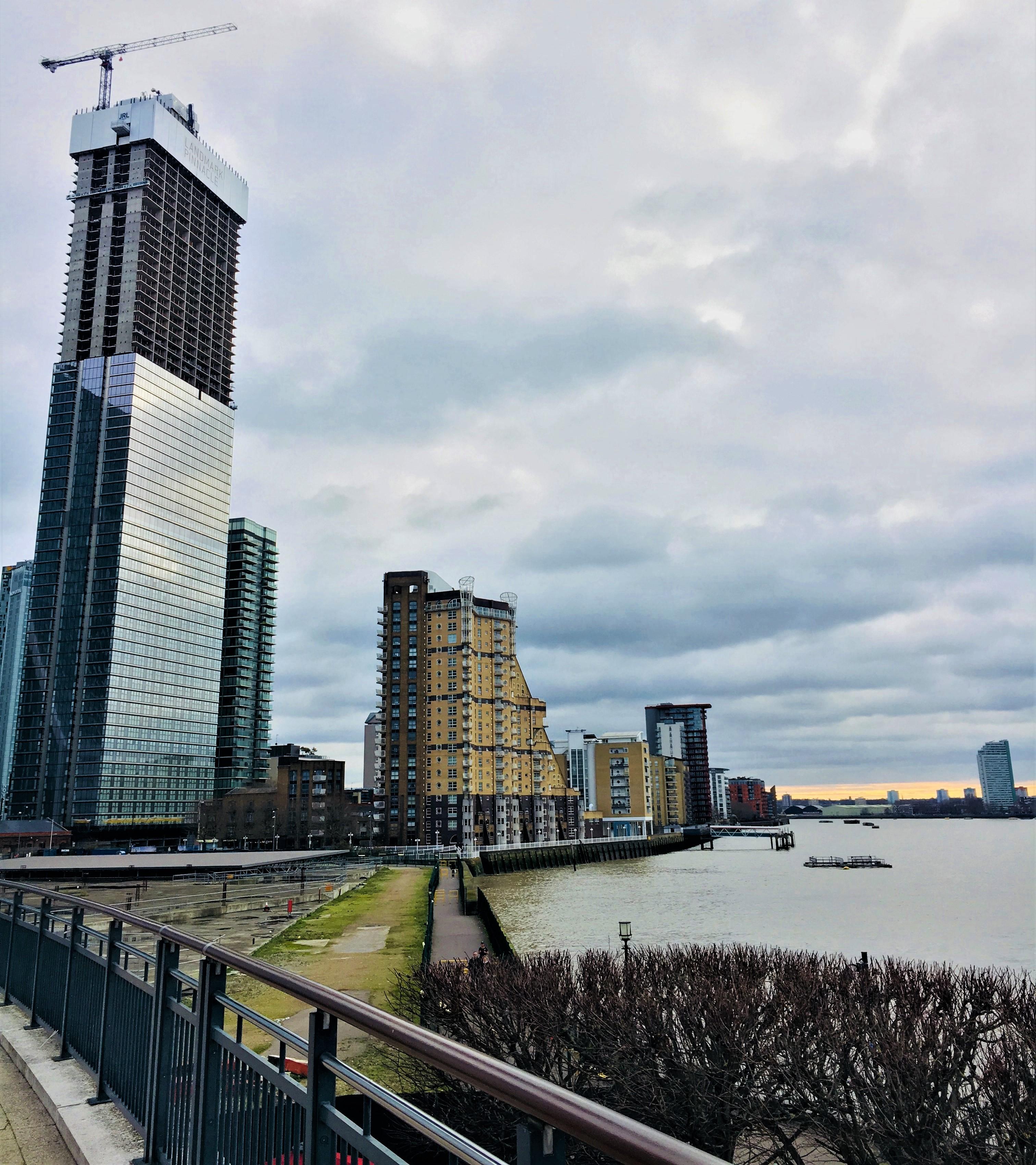 Landmark Pinnacle overlooking South Dock