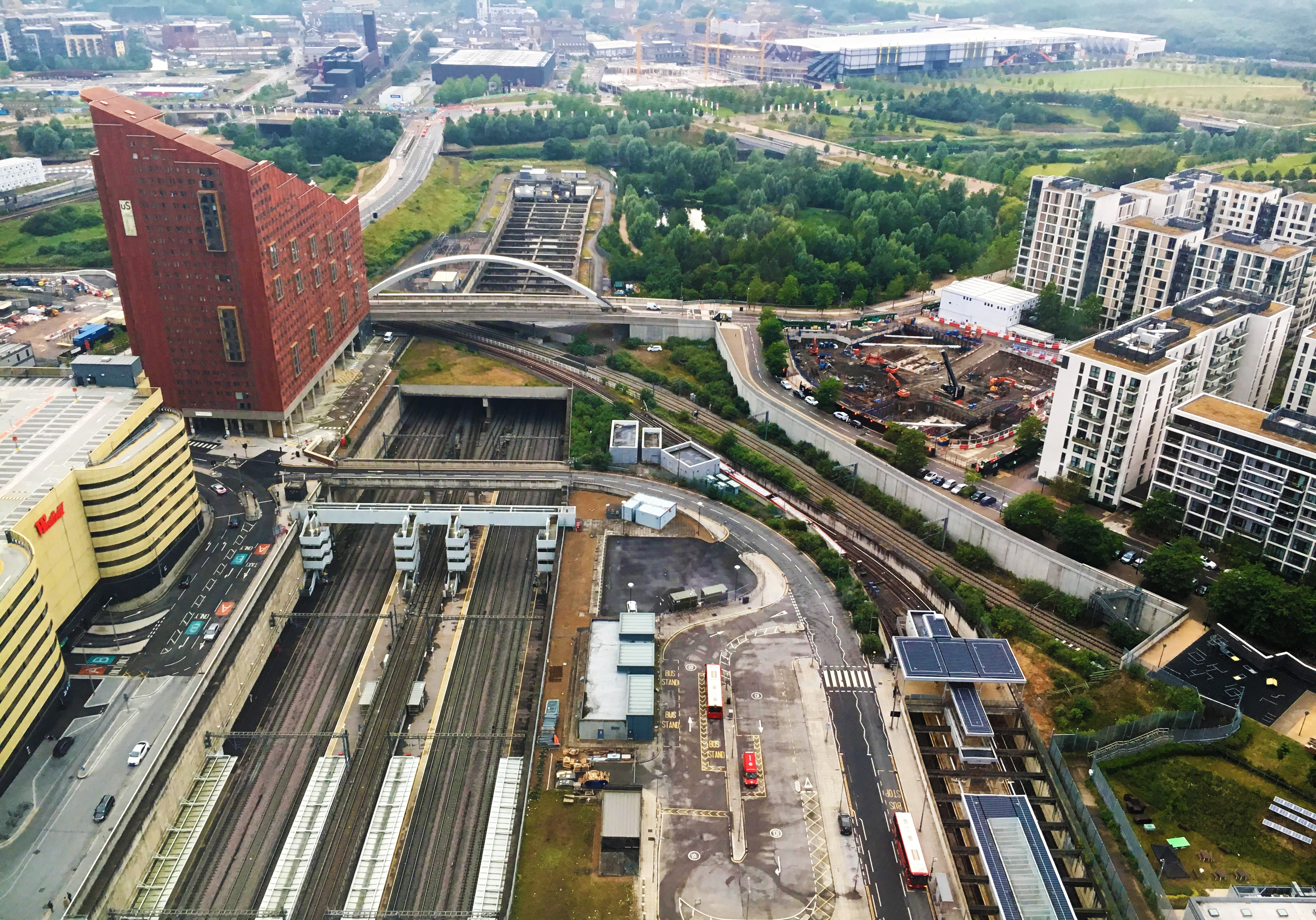 Stratford station developments