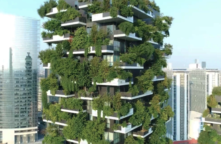 World's smartest buildings: Bosco Verticale