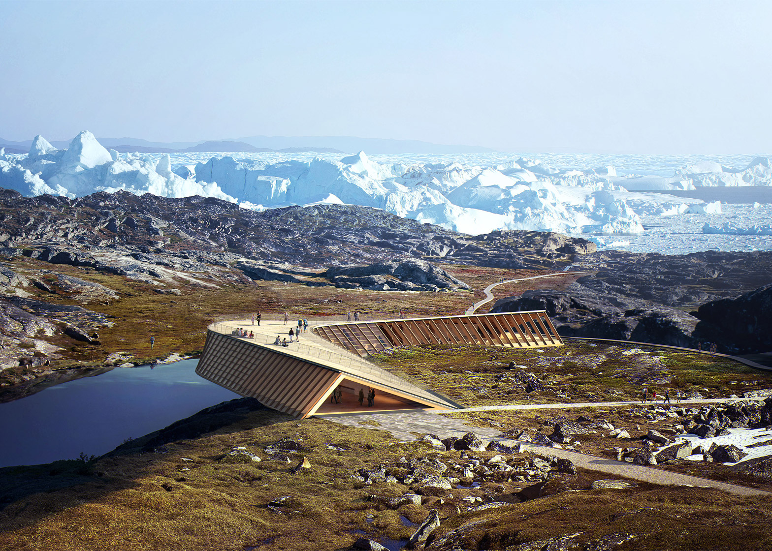 The Icefjord Centre in Illusisat, Greenland