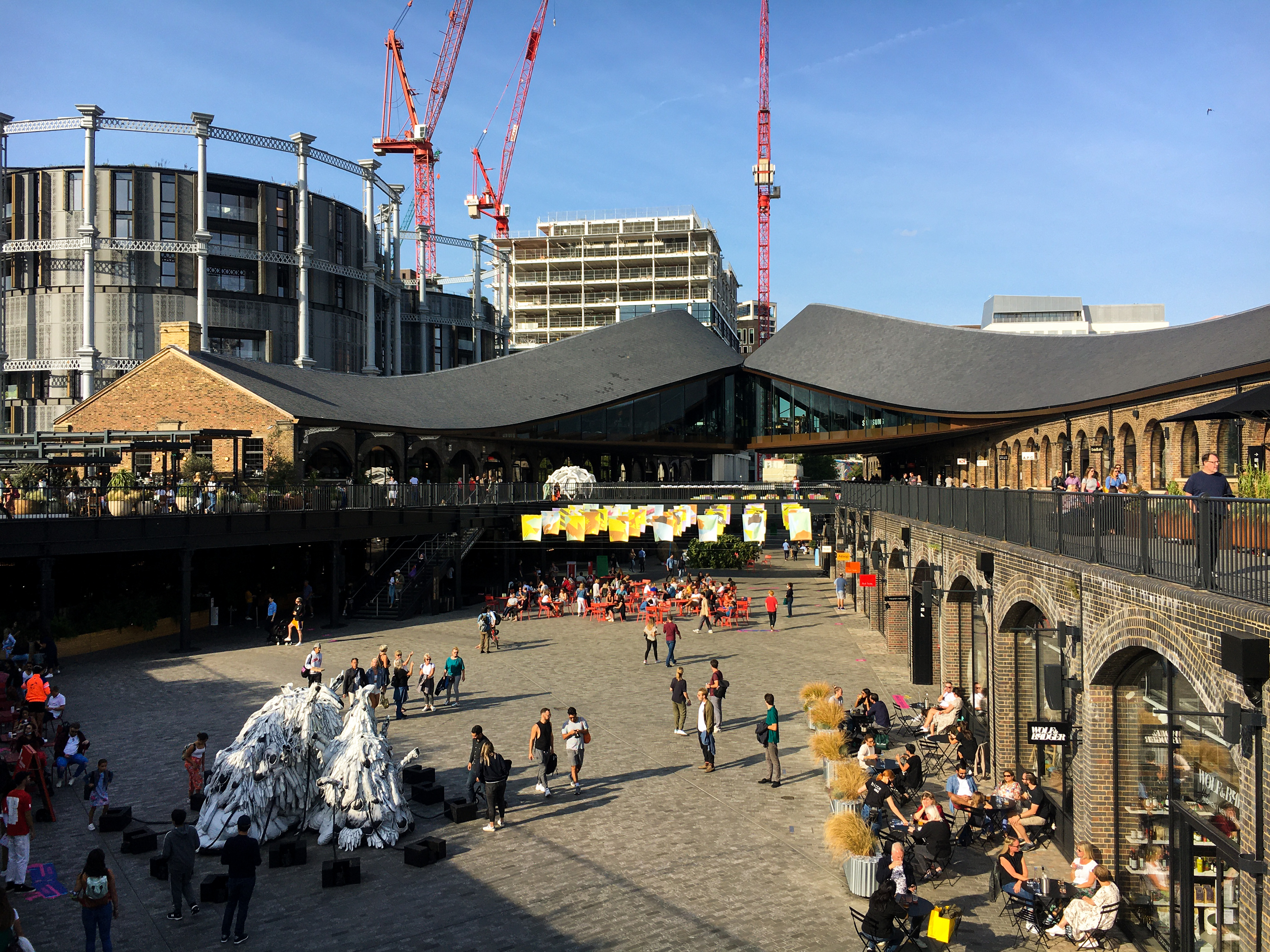 Coal Drops Yard's kissing roofs